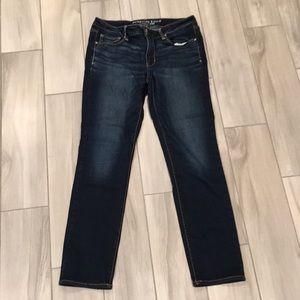 AEO 12 reg skinny jeans